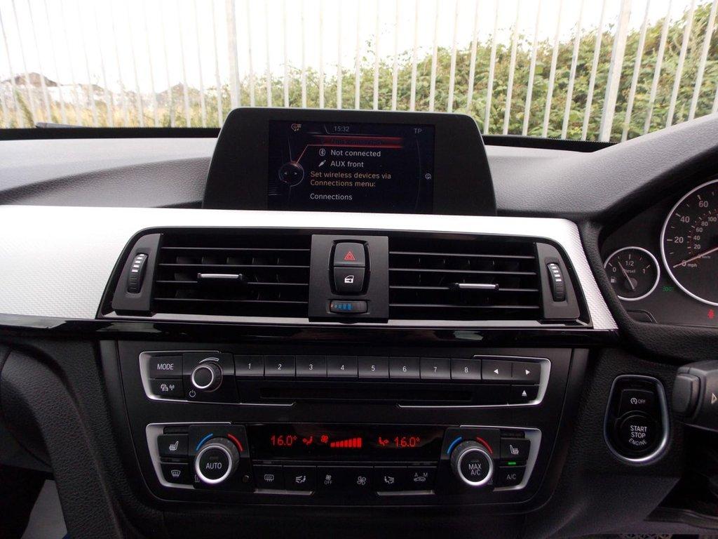 USED 2015 65 BMW 3 SERIES 2.0 320D M SPORT GRAN TURISMO 5d AUTO 181 BHP