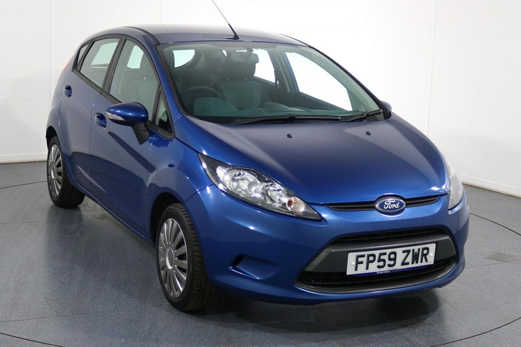 USED 2010 59 FORD FIESTA 1.2 EDGE 5d 81 BHP 2 OWNERS and 6 Stamp SERVICE HISTORY