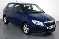 USED 2012 61 SKODA FABIA 1.4 SE 5d 85 BHP 2 OWNERS with 7 Stamp SERVICE HISTORY