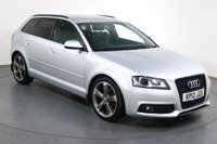 USED 2012 12 AUDI A3 2.0 SPORTBACK TDI S LINE SE 5d 168 BHP **£3600 OPTIONAL EXTRA Fitted**