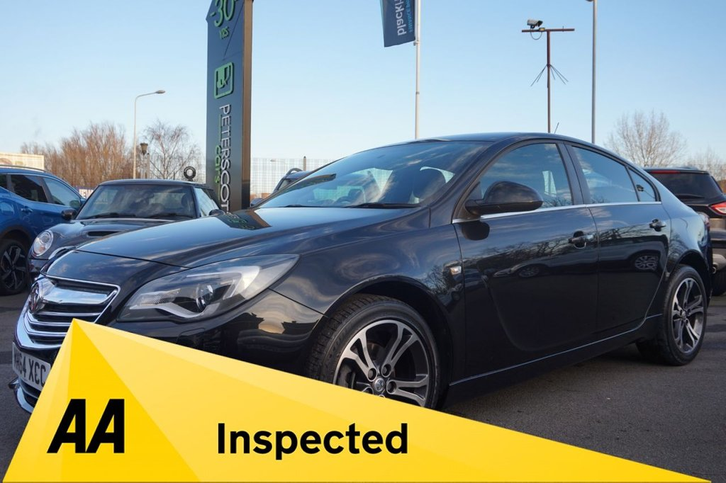 USED 2015 64 VAUXHALL INSIGNIA 1.8 LIMITED EDITION 5d 138 BHP