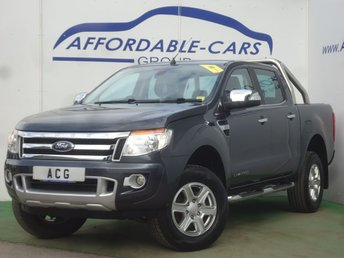 2013 FORD RANGER Pick Up Double Cab Limited 2.2 TDCi 150 4WD £11500.00