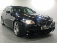 USED 2012 62 BMW 5 SERIES 2.0 520D M SPORT TOURING 5d AUTO 181 BHP