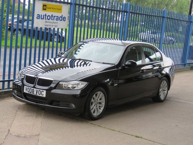 USED 2008 08 BMW 3 SERIES 2.0 320I SE 4dr Cruise Rear park Alloys Front fogs Finance arranged Part exchange available Open 7 days