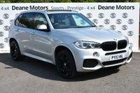 USED 2015 15 BMW X5 3.0 XDRIVE30D M SPORT 5d AUTO 255 BHP PANROOF 7 STS