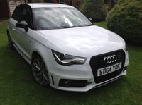 2014 AUDI A1 1.6 TDI S LINE STYLE EDITION 3d 103 BHP £SOLD