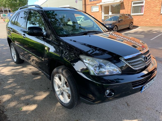 USED 2008 58 LEXUS RX 3.3 400H SE CVT 5d AUTO 208 BHP EXCELLENT CONDITION LUXURY LOW MILEAGE LEXUS, ALLOY WHEELS, LEATHER, CLIMATE CONTROL, CRUISE CONTROL