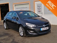 "USED 2014 14 VAUXHALL ASTRA 1.6 SRI 5d 113 BHP Air Con, Cruise Control, Bluetooth, Front Fog lights, 18"" Alloys"