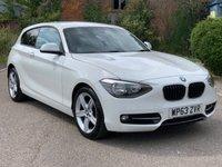 2013 BMW 1 SERIES 1.6 114D SPORT 3d 94 BHP £8390.00