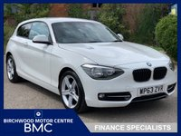 USED 2013 63 BMW 1 SERIES 1.6 114D SPORT 3d 94 BHP