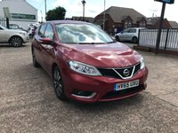 USED 2015 65 NISSAN PULSAR 1.5 N-TEC DCI 5d 110 BHP 1 OWNER-FULL DEALER HISTORY-SAT NAV-BLUETOOTH-ZERO £££ ROAD TAX