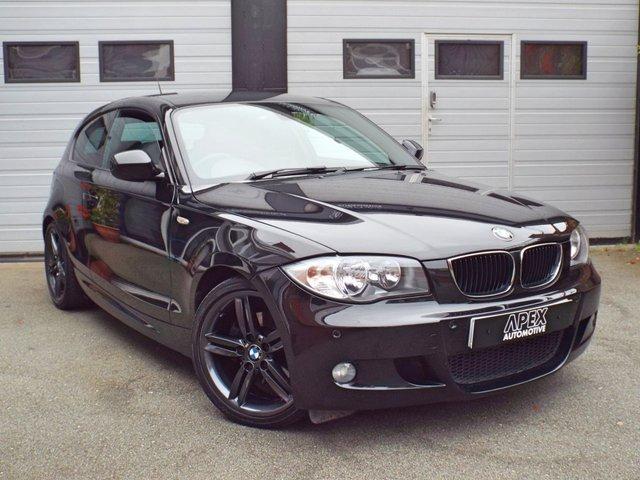 2011 11 BMW 1 SERIES 2.0 120D M SPORT 3d AUTO 175 BHP