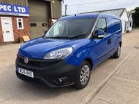 USED 2016 16 FIAT DOBLO 1.2 16V SX MULTIJET MAXI 90 BHP LOW MILEAGE