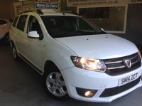 USED 2014 14 DACIA LOGAN MCV 1.5 DCI  LAUREATE  ESTATE Zero Road Tax