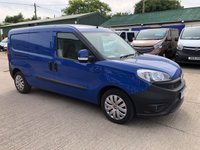 USED 2016 16 FIAT DOBLO 1.2 16V SX MULTIJET 90 BHP AIR CON LOW MILEAGE