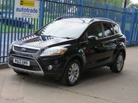 2012 FORD KUGA 2.0 TITANIUM TDCI 2WD 5dr 1/2 Leather Cruise DAB Privacy  £SOLD