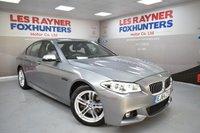 USED 2014 64 BMW 5 SERIES 2.0 525D M SPORT 4d AUTO 215 BHP Sat Nav, Bluetooth, Cruise control, Full Leather