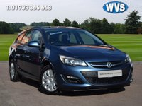 2013 VAUXHALL ASTRA 1.6 EXCLUSIV 5d 115 BHP £5699.00