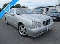 USED 2001 51 MERCEDES-BENZ E CLASS 2.2 E220 CDI AVANTGARDE 4d AUTO 143 BHP SPARES OR REPAIR