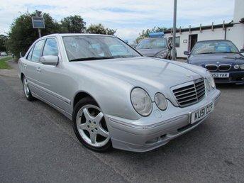 2001 MERCEDES-BENZ E CLASS 2.2 E220 CDI AVANTGARDE 4d AUTO 143 BHP £500.00