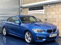 2015 BMW 2 SERIES 2.0 220d M Sport Coupe 2dr Diesel Manual (s/s) (115 g/km, 190 bhp) £14989.00