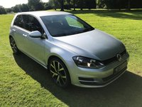 USED 2015 64 VOLKSWAGEN GOLF 1.4 S TSI BLUEMOTION TECHNOLOGY 5d 120 BHP **EXCELLENT FINANCE PACKAGES**FULL SERVICE HISTORY**FREE ROAD TAX**