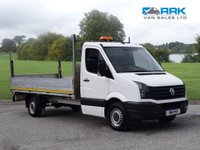 USED 2017 17 VOLKSWAGEN CRAFTER 2.0 CR35 TDI BMT LWB Dropside Truck  Stunning Dropside Ready To Work !