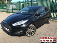 USED 2017 66 FORD FIESTA 1.0 ST-LINE 5d 124 BHP BODYKIT SATNAV ONE OWNER BODYKIT. STUNNING BLACK MET WITH CLOTH SPORTS TRIM. 17 INCH GREY ALLOYS. COLOUR CODED TRIMS. PRIVACY GLASS. REAR SPOILER. BLUETOOTH PREP. AIR CON. R/CD PLAYER. MFSW. MOT 01/20. SERVICE HISTORY. SUV4X4 CAR CENTRE LS23 7FQ TEL 01937 849492 OPTION 2
