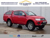 USED 2015 15 MITSUBISHI L200 2.5 DI-D 4X4 CHALLENGER LB DCB 1d 175 BHP One Owner Full Service History Buy Now, Pay Later Finance!