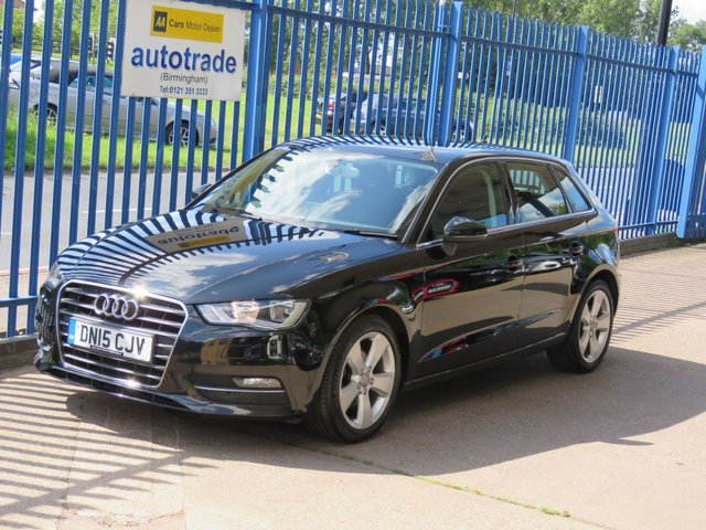 USED 2015 15 AUDI A3 1.6 TDI SPORT 5dr DAB Alloys Bluetooth & audio Finance arranged Part exchange available Open 7 days