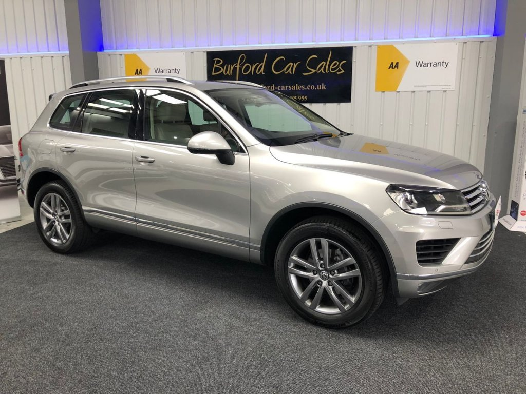 USED 2015 65 VOLKSWAGEN TOUAREG 3.0 V6 SE TDI BLUEMOTION TECHNOLOGY 5d AUTO 259 BHP