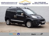 USED 2017 17 FIAT QUBO 1.2 MULTIJET TREKKING 5d 94 BHP One Owner All Dealer History Buy Now, Pay Later Finance!