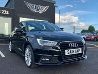 USED 2016 16 AUDI A1 1.6 SPORTBACK TDI S LINE 5d 114 BHP MOT AND SERVICE AND WARRANTY INCLUDED