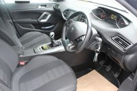 USED 2015 15 PEUGEOT 308 1.6 BLUE HDI S/S SW ALLURE 5d 120 BHP  BLACK EXCELLENT MPG + £0 PER YEAR TAX