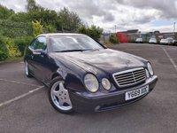 2001 MERCEDES-BENZ CLK CLK320 AVANTGARDE 3.2 2d AUTO £1600.00