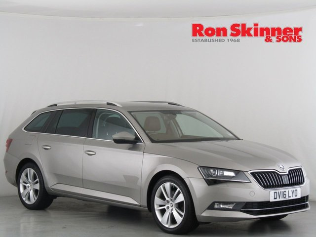 View our 2016 16 SKODA SUPERB 2.0 SE L EXECUTIVE TDI DSG 5d AUTO 148 BHP