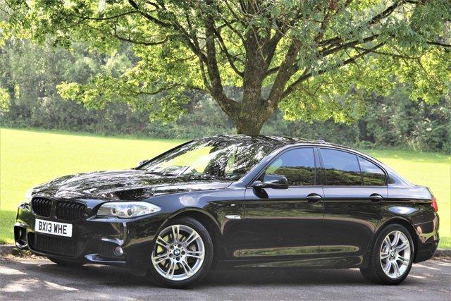 2013 13 BMW 5 SERIES 2.0 520D M SPORT 4d AUTO -
