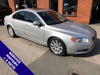 """USED 2010 60 VOLVO S80 2.4 D5 SE LUX 4DOOR AUTO 205 BHP USB & AUX Sockets   :   Cruise Control   :   Bluetooth   :   Climate Control / Air Conditioning     Electrically Adjustable Sunroof   :   Heated Front Seats   :   Full Black Leather Upholstery      Rear Parking Sensors   :   17"""" Alloy Wheels   :   2 Keys   :   Service History"""