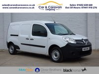 USED 2015 15 RENAULT KANGOO MAXI 1.5 LL21 CORE DCI 1d 110 BHP One Owner Full Service History Buy Now, Pay Later Finance!