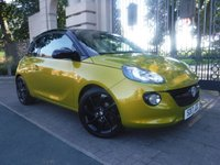 USED 2017 17 VAUXHALL ADAM 1.2 ENERGISED 3d 69 BHP ****FINANCE ARRANGED****PART EXCHANGE WELCOME***PART LEATHER*APPLE CAR PLAY*DAB RADIO*BLUETOOTH*CRUISE*AC