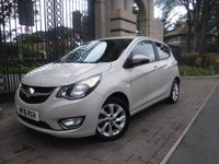 USED 2016 16 VAUXHALL VIVA 1.0 SL 5d 74 BHP *** FINANCE & PART EXCHANGE WELCOME *** 1 OWNER £ 20 TAX BLUETOOTH PHONE CRUISE CONTROL HALF LEATHER HEATED SEATS ELECTRIC SUNROOF