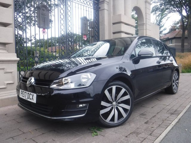 USED 2017 17 VOLKSWAGEN GOLF 1.4 GT EDITION TSI ACT BMT 5d 148 BHP ****FINANCE ARRANGED****PART EXCHANGE WELCOME***VOLKSWAGEN WARRANTY UNTIL 9/3/2020*NAV*BLUETOOTH*AUX*USB