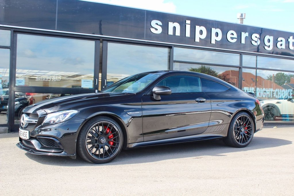 USED 2016 66 MERCEDES-BENZ C-CLASS 4.0 AMG C 63 S EDITION 1 2d AUTO 503 BHP