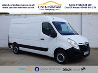 USED 2014 14 VAUXHALL MOVANO 2.3 F3500 L2H2 CDTI 1d 123 BHP One Owner Full Dealer History Buy Now, Pay Later Finance!