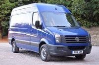 2014 VOLKSWAGEN CRAFTER 2.0 CR35 TDI  109 BHP £7450.00