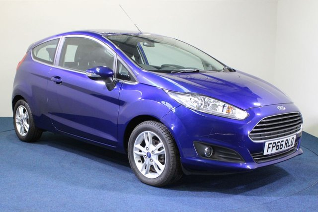 USED 2016 66 FORD FIESTA 1.0 ZETEC 3d 99 BHP FINANCE AVAILABLE FROM 7.9% APR