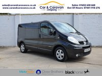 USED 2014 14 RENAULT TRAFIC 2.0 SL27 SPORT DCI S/R P/V 1d 115 BHP Dealer History SAT-NAV Air Con Buy Now, Pay Later Finance!