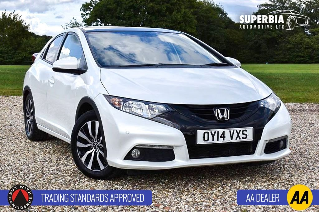 USED 2014 14 HONDA CIVIC 1.6 I-DTEC SR 5d 118 BHP