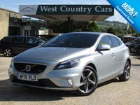 USED 2015 15 VOLVO V40 2.0 D4 R-DESIGN LUX NAV 5d 187 BHP Excellent Specification And Safety