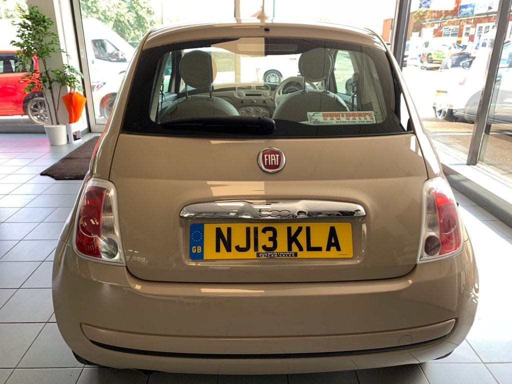 2013 Fiat 500 Colour Therapy £4,195